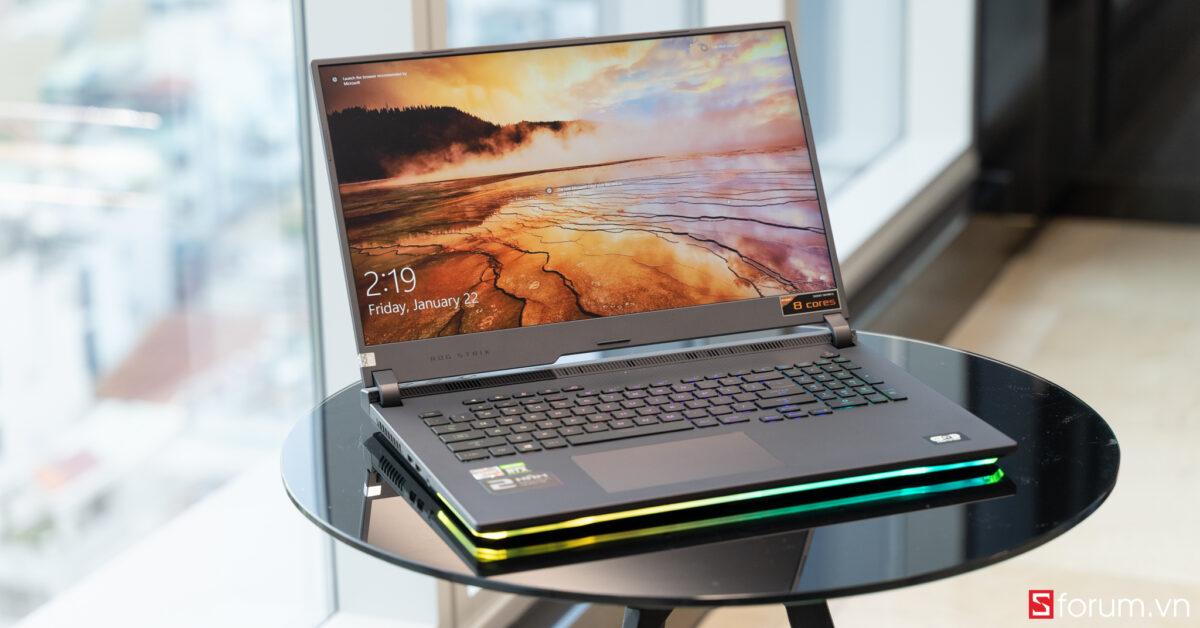 Sforum - Trang thông tin công nghệ mới nhất ROG-Strix-G17-1-05617 Trên tay và trải nghiệm nhanh Laptop ROG Strix G17 thế hệ mới: Nâng cấp diện mạo, hiệu năng cải tiến, hướng đến game thủ Esports