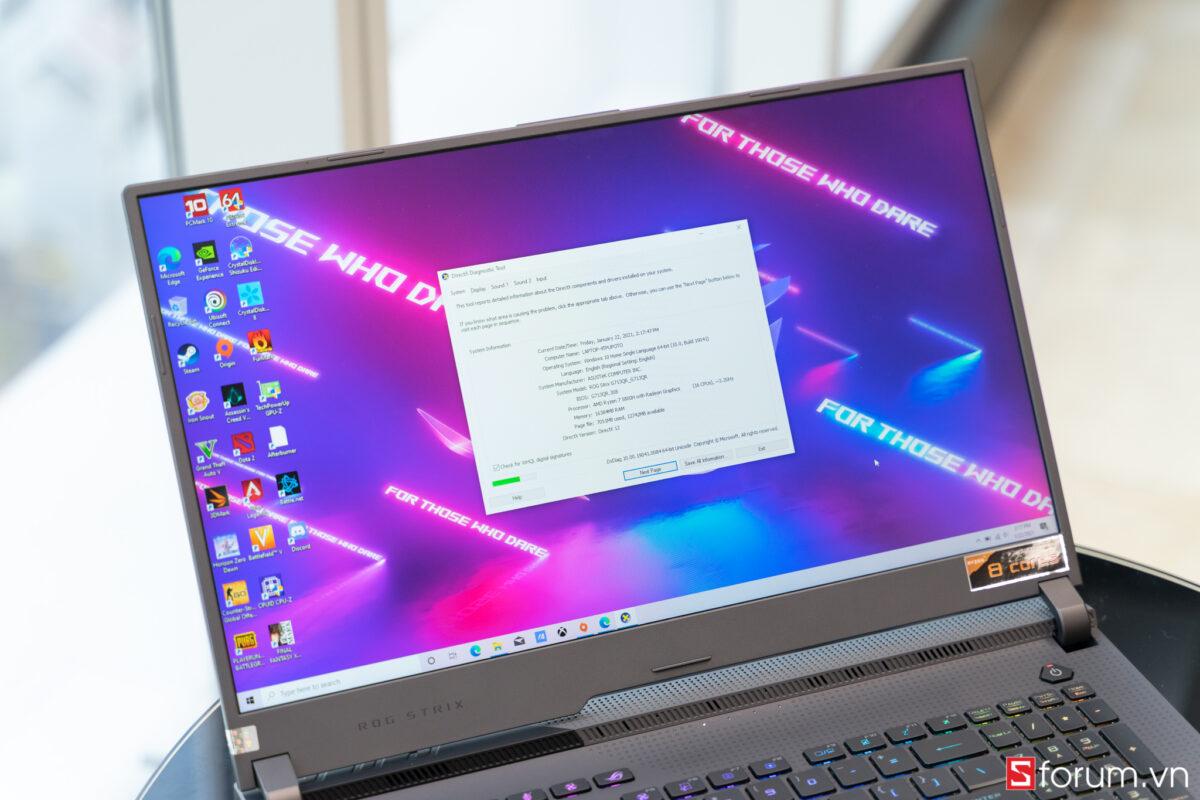 Sforum - Trang thông tin công nghệ mới nhất ROG-Strix-G17-1-05613 Trên tay và trải nghiệm nhanh Laptop ROG Strix G17 thế hệ mới: Nâng cấp diện mạo, hiệu năng cải tiến, hướng đến game thủ Esports