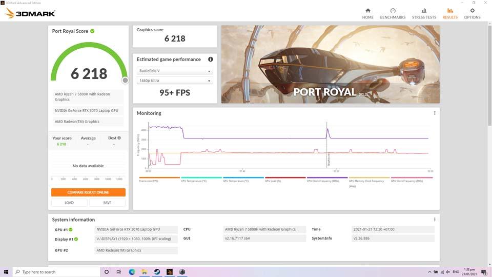 Sforum - Trang thông tin công nghệ mới nhất Screenshot-3 Trên tay và trải nghiệm nhanh Laptop ROG Strix G17 thế hệ mới: Nâng cấp diện mạo, hiệu năng cải tiến, hướng đến game thủ Esports