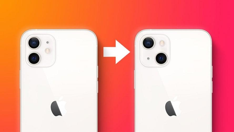 3 Nguyên nhân camera trên iPhone 13 được đặt chéo