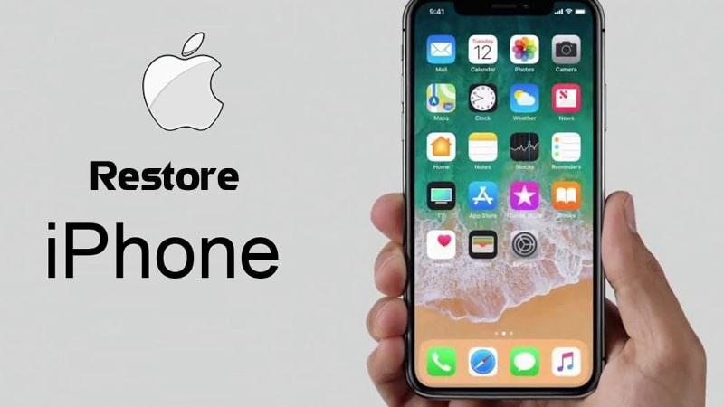 Cách cài đặt lại iPhone