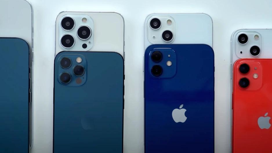 So sánh iPhone 13 Series va 12 Series: Khắc phục camera để hoàn thiện
