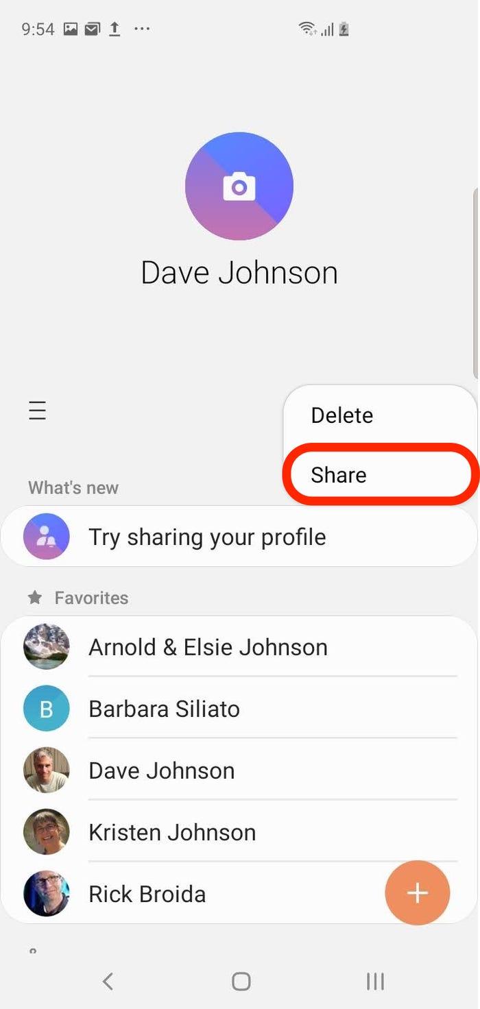 Cách chuyển danh ba từ Android sang iPhone