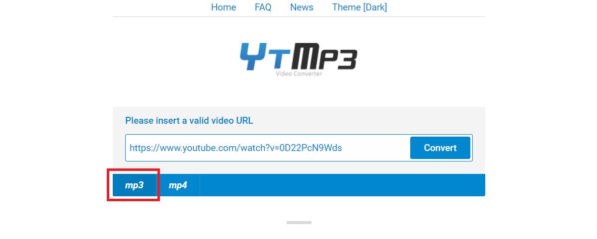 Cách chuyển đổi video youtube sang mp3