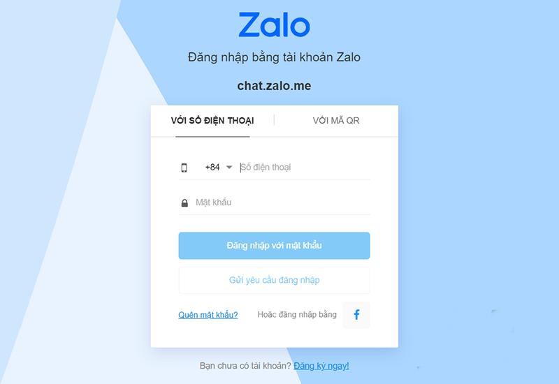 Cách đăng nhập Zalo web trên máy tính