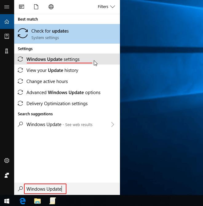 Cách tắt update win 10