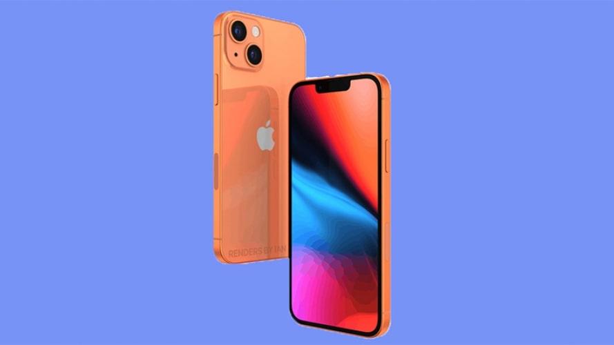 iPhone 13 màu cam xuất hiện cuốn hút mê hồn