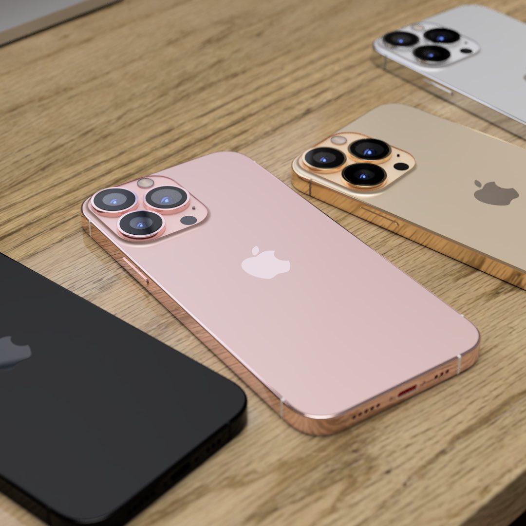iPhone 13 Pro Max xuất hiện 4 màu sắc cực đẹp