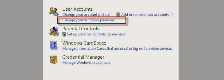 cách cài mật khẩu máy tính bước 3