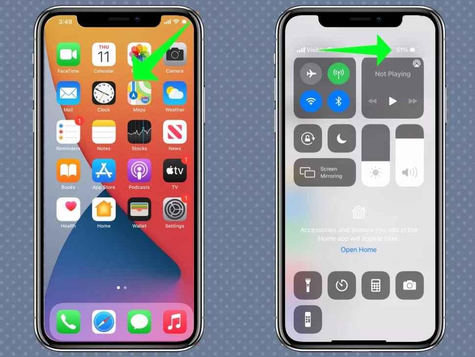 Cách hiển thị phần trăm pin iPhone nhanh nhất 2021