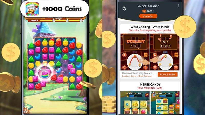 chơi game kiếm tiền playspot
