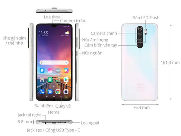 Redmi Note 8 Pro có nhiều ưu điểm