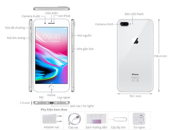 giá iPhone 8 Plus 64GB