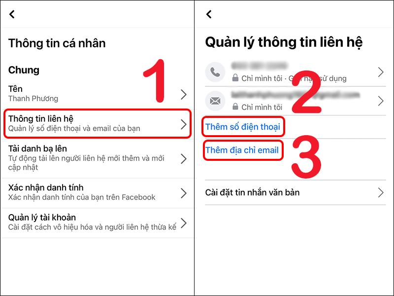cách lấy lại mật khẩu facebook bước 2