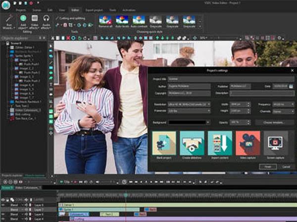 Phần mềm chỉnh sửa video VSDC