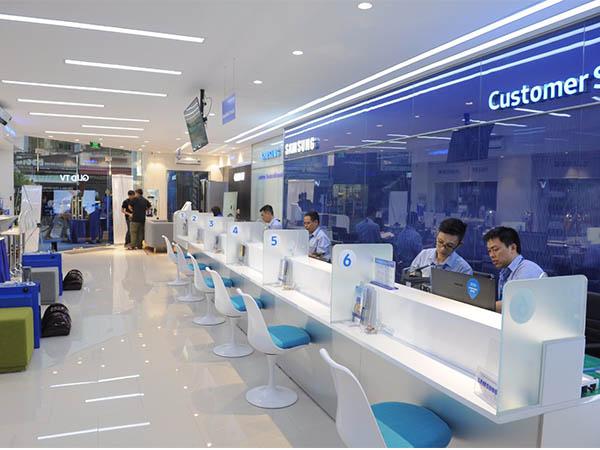 lợi ích trung tâm bảo hành Samsung